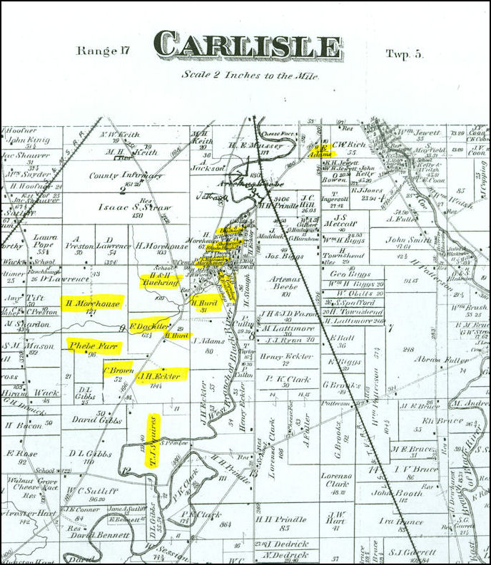 Lorain County Chapter Of The Ohio Genealogical Society Maps